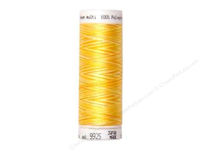 Mettler PolySheen Embroidery Thread 220 yd. #9925 Variegated Sunny Rays