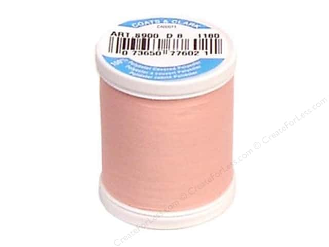 Coats & Clark Dual Duty XP All Purpose Thread 125 yd. #1180 Light Pink