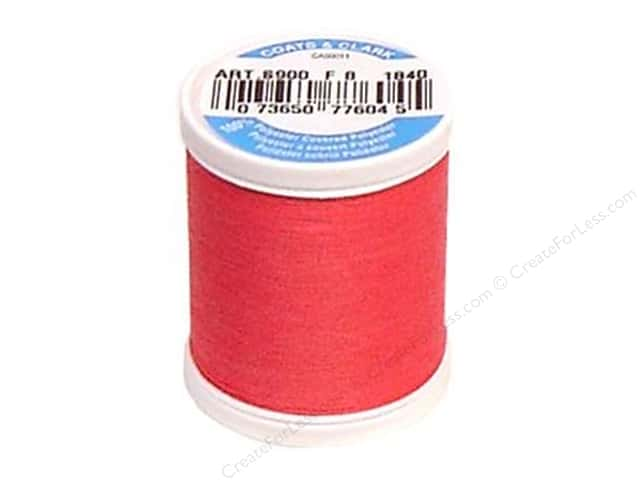 Coats & Clark Dual Duty XP All Purpose Thread 125 yd. #1840 Hot Pink