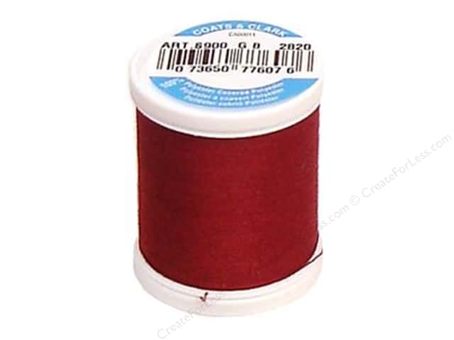 Coats & Clark Dual Duty XP All Purpose Thread 125 yd. #2820 Barberry Red