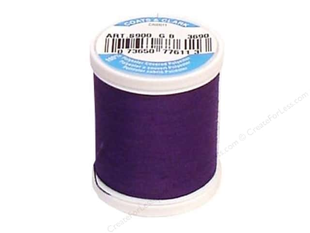 Coats & Clark Dual Duty XP All Purpose Thread 125 yd. #3690 Purple