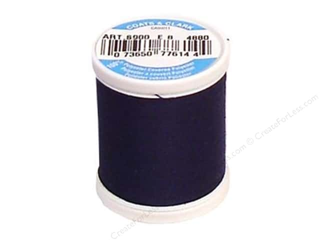 Coats & Clark Dual Duty XP All Purpose Thread 125 yd. #4880 Freedom Blue