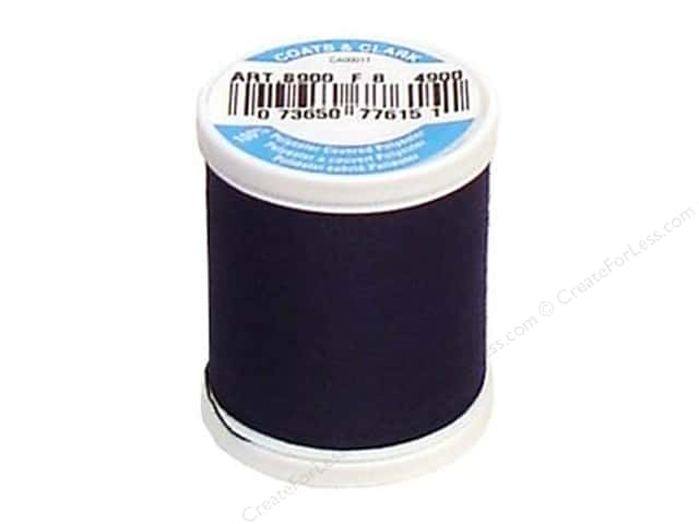 Coats & Clark Dual Duty XP All Purpose Thread 125 yd. #4900 Navy