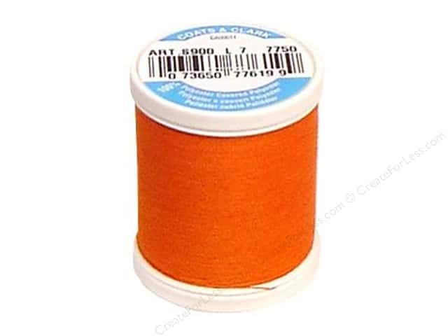 Coats & Clark Dual Duty XP All Purpose Thread 125 yd. #7750 Kumquat