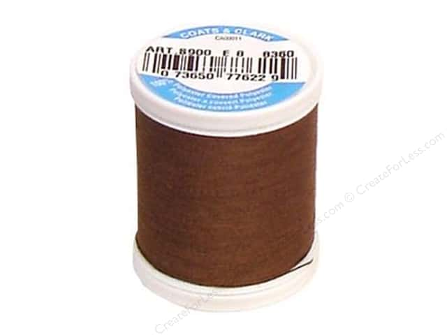 Coats & Clark Dual Duty XP All Purpose Thread 125 yd. #8360 Summer Brown