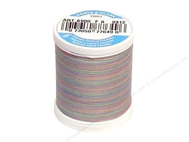 Coats & Clark Dual Duty XP All Purpose Thread 125 yd. #9312 Baby Pastels