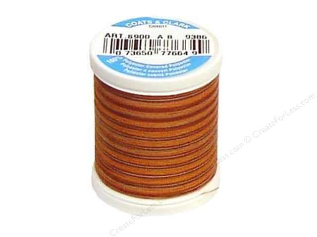 Coats & Clark Dual Duty XP All Purpose Thread 125 yd. #9386 Autumn
