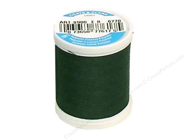 Coats & Clark Dual Duty XP All Purpose Thread 125 yd. #6770 Forest Green