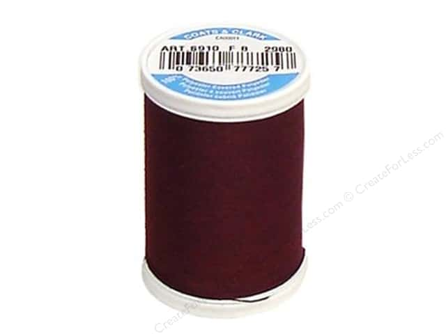 Coats & Clark Dual Duty XP All Purpose Thread 250 yd. #2980 Maroon