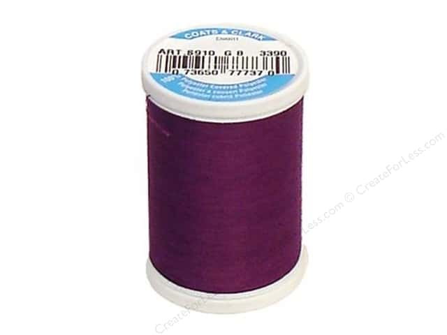 Coats & Clark Dual Duty XP All Purpose Thread 250 yd. #3390 Ultra Violet