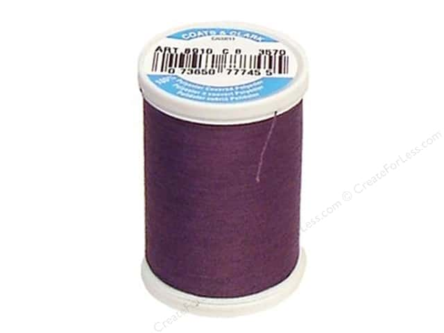Coats & Clark Dual Duty XP All Purpose Thread 250 yd. #3570 Sea Grape