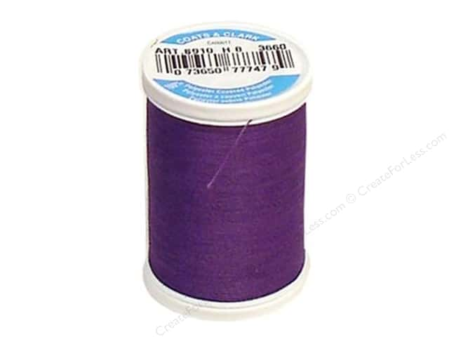 Coats & Clark Dual Duty XP All Purpose Thread 250 yd. #3660 Deep Violet