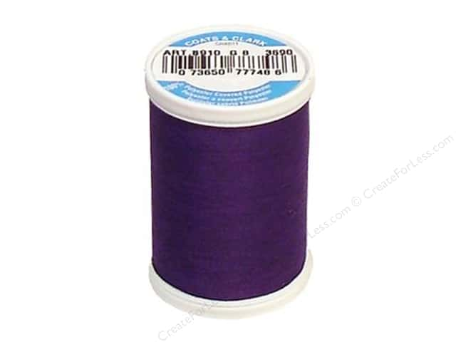 Coats & Clark Dual Duty XP All Purpose Thread 250 yd. #3690 Purple
