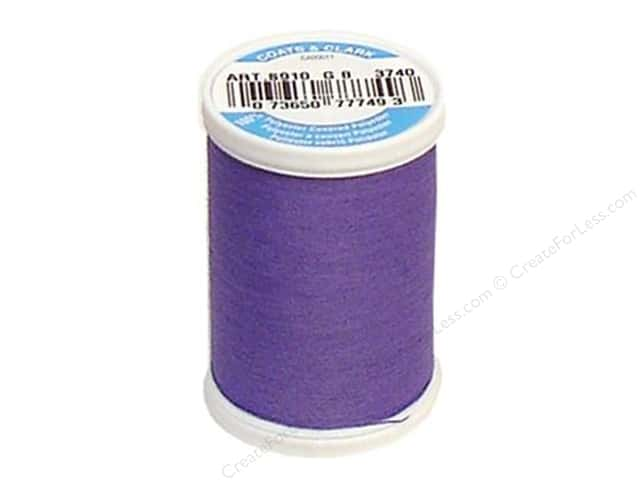 Coats & Clark Dual Duty XP All Purpose Thread 250 yd. #3740 Amethyst