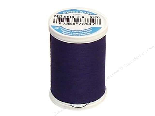 Coats & Clark Dual Duty XP All Purpose Thread 250 yd. #3970 Deep Purple