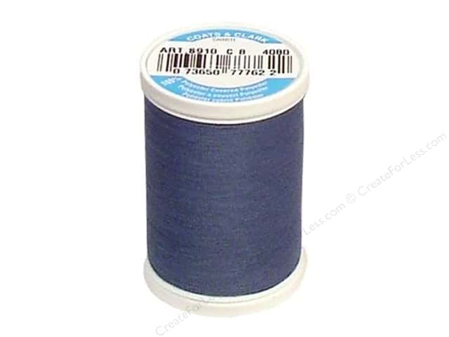 Coats & Clark Dual Duty XP All Purpose Thread 250 yd. #4080 Firmament Blue