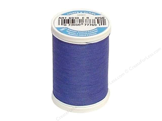 Coats & Clark Dual Duty XP All Purpose Thread 250 yd. #4250 Periwinkle