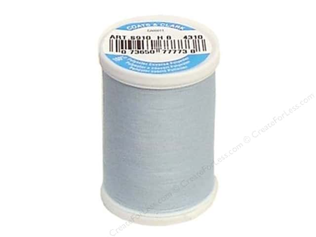 Coats & Clark Dual Duty XP All Purpose Thread 250 yd. #4310 Icy Blue