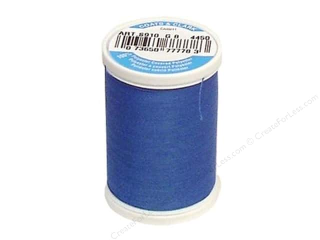 Coats & Clark Dual Duty XP All Purpose Thread 250 yd. #4450 Pilot Blue