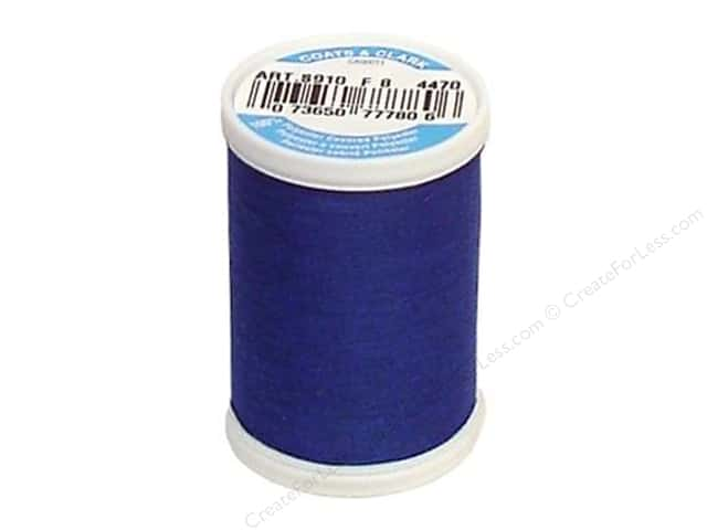 Coats & Clark Dual Duty XP All Purpose Thread 250 yd. #4470 Yale Blue