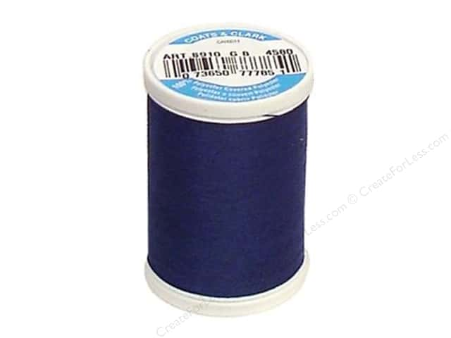 Coats & Clark Dual Duty XP All Purpose Thread 250 yd. #4580 Blue Chip