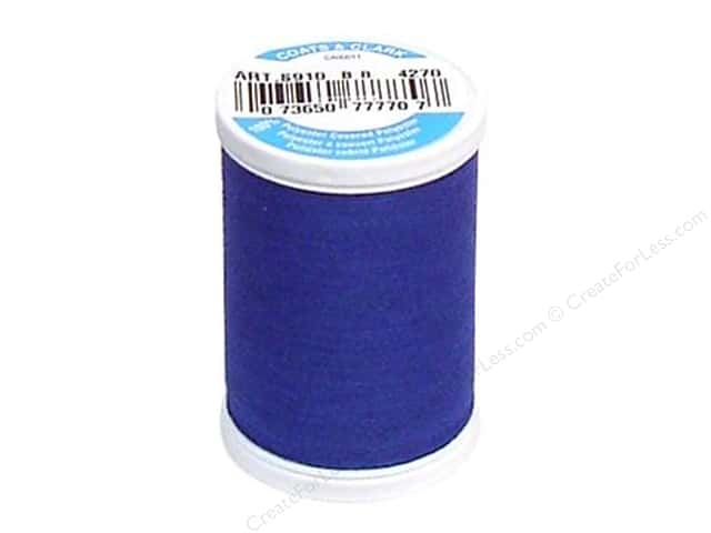 Coats & Clark Dual Duty XP All Purpose Thread 250 yd. #4270 Monaco Blue