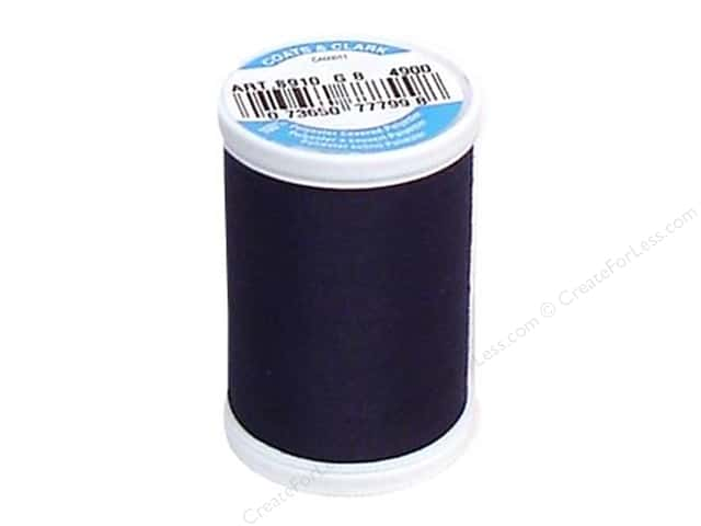 Coats & Clark Dual Duty XP All Purpose Thread 250 yd. #4900 Navy