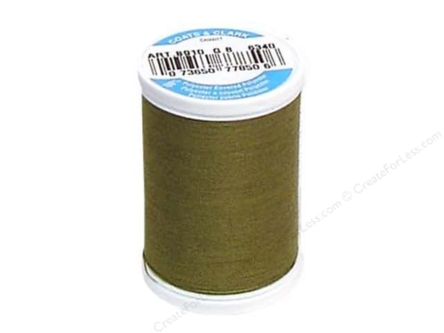 Coats & Clark Dual Duty XP All Purpose Thread 250 yd. #6340 Olive