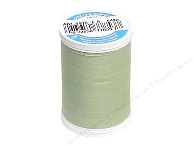 Coats & Clark Dual Duty XP All Purpose Thread 250 yd. #6420 Nile Green