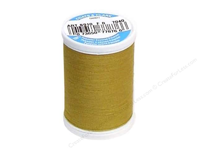Coats & Clark Dual Duty XP All Purpose Thread 250 yd. #7040 Jungle Gold
