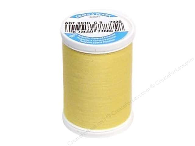 Coats & Clark Dual Duty XP All Purpose Thread 250 yd. #7330 Yellow