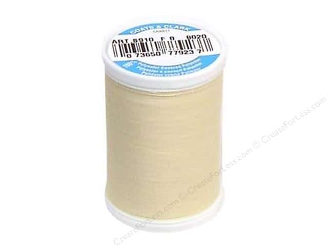 Coats & Clark Dual Duty XP All Purpose Thread 250 yd. #8020 Cream