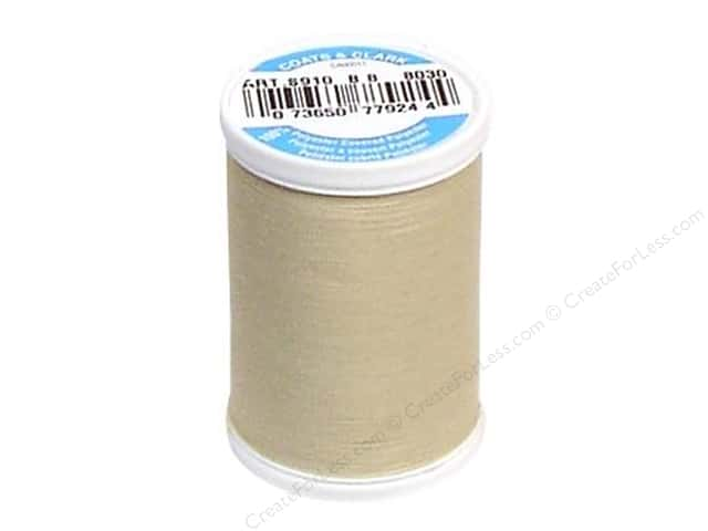 Coats & Clark Dual Duty XP All Purpose Thread 250 yd. #8030 Ecru
