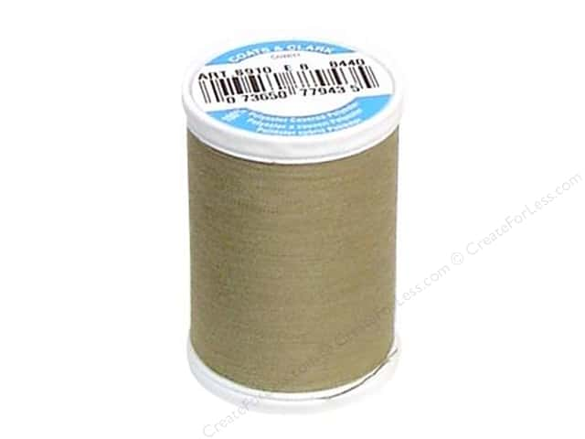 Coats & Clark Dual Duty XP All Purpose Thread 250 yd. #8440 Khaki