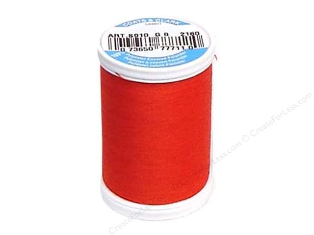 Coats & Clark Dual Duty XP All Purpose Thread 250 yd. #2160 Atom Red