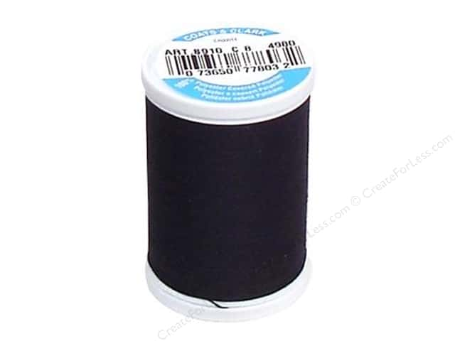 Coats & Clark Dual Duty XP All Purpose Thread 250 yd. #4980 Blue Black