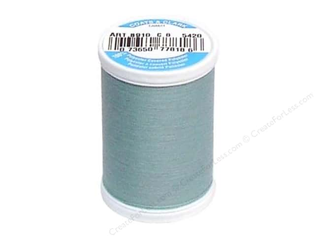 Coats & Clark Dual Duty XP All Purpose Thread 250 yd. #5420 Blue Aqua