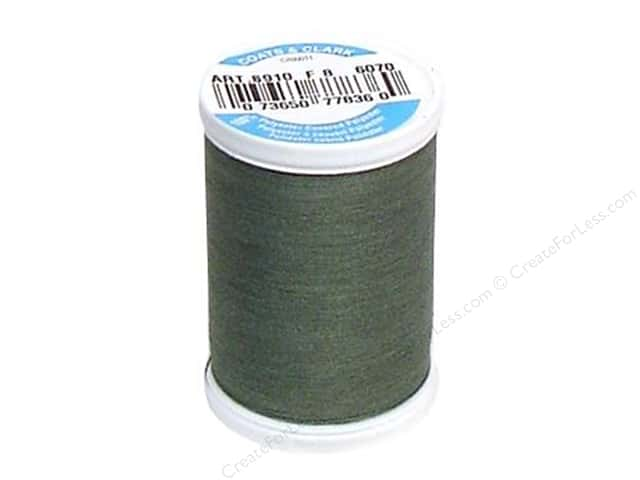 Coats & Clark Dual Duty XP All Purpose Thread 250 yd. #6070 Sage