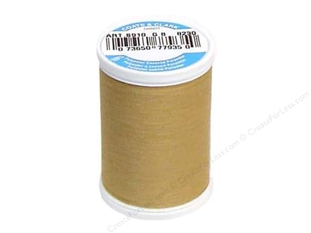 Coats & Clark Dual Duty XP All Purpose Thread 250 yd. #8230 Camel