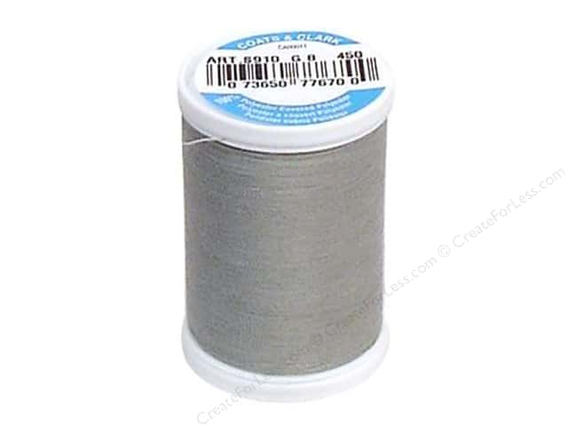 Coats & Clark Dual Duty XP All Purpose Thread 250 yd. #450 Nugrey