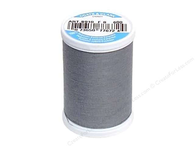 Coats & Clark Dual Duty XP All Purpose Thread 250 yd. #600 Light Slate