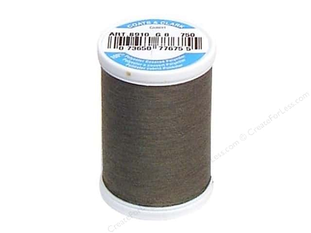 Coats & Clark Dual Duty XP All Purpose Thread 250 yd. #750 Smoke