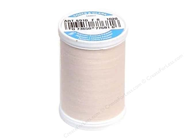 Coats & Clark Dual Duty XP All Purpose Thread 250 yd. #1020 Powder Pink