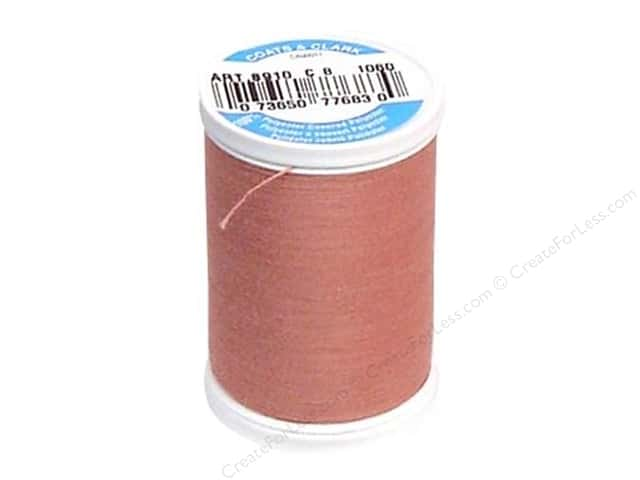 Coats & Clark Dual Duty XP All Purpose Thread 250 yd. #1060 Almond Pink