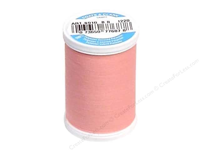 Coats & Clark Dual Duty XP All Purpose Thread 250 yd. #1220 Rose Pink