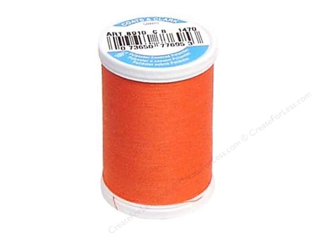 Coats & Clark Dual Duty XP All Purpose Thread 250 yd. #1470 Flamingo