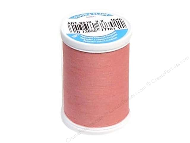 Coats & Clark Dual Duty XP All Purpose Thread 250 yd. #1640 Dark Old Rose