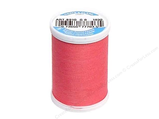 Coats & Clark Dual Duty XP All Purpose Thread 250 yd. #1830 Dark Rose