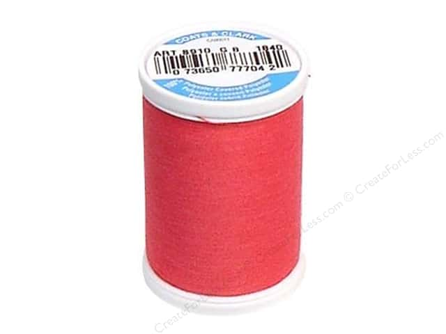 Coats & Clark Dual Duty XP All Purpose Thread 250 yd. #1840 Hot Pink