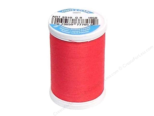 Coats & Clark Dual Duty XP All Purpose Thread 250 yd. #1850 Bright Rose
